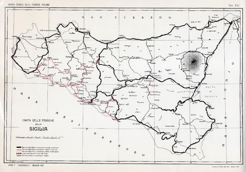 rete ferrovie sicilia